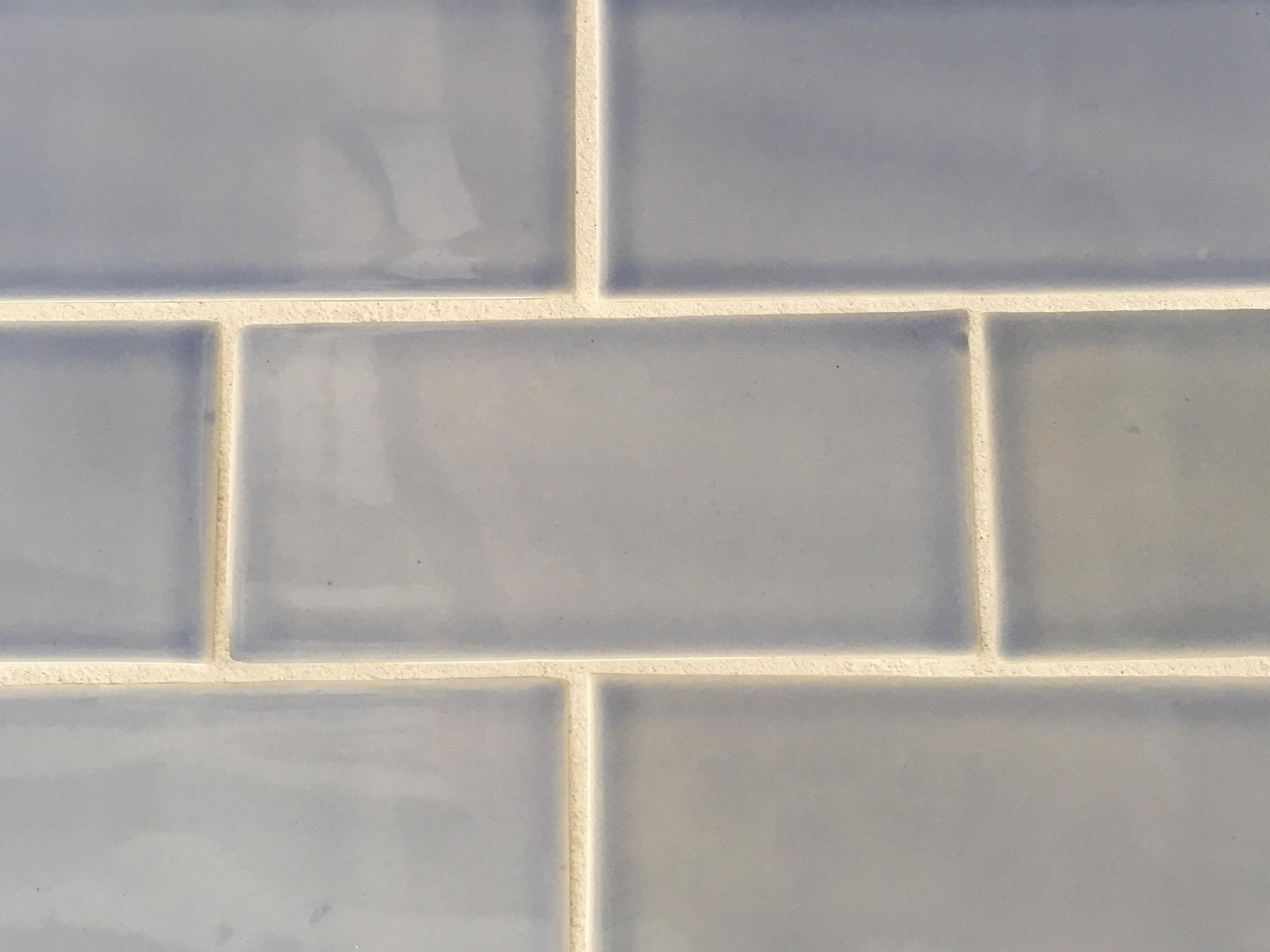 Tender gray subway tile